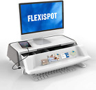 FlexiSpot Monitor & Laptop Stand Workstation & Riser with Removable Storage