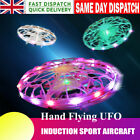 Hand Flying UFO Ball LED Mini Induction Suspension RC Aircraft Drone Toys Gift❤~