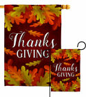 Thanksgiving Garden Flag Fall Decorative Small Gift Yard House Banner