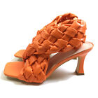 Women's Shoes Square Sole High Heels Braided Sandals Cross Band Summer Silpper