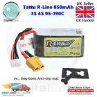 Tattu R-Line 850mAh 95C 3S 11.1V or 4S 14.8V XT60 XT30 Lipo Battery -1000 RC