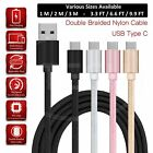 Charging Cable for Samsung Galaxy A31 Charger USB TypeC Data Cable Nylon Braided