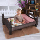 For Newborn Photography Props Wooden Baby Bed Photo Studio Infant Accessories