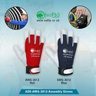 Assembly Gloves, Goat leather, Gardening|Mechanics|builders|Drivers Work Gloves.