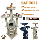 Large Cat Tree Climbing Scratching Post Activity Centre Bed Toy Scratcher uz