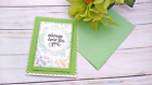 Handmade Greeting Card Always Here for You Encouragement Uplifting A2 Size