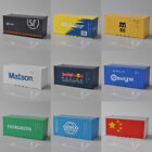 1:64 Diecast Metal Model 20ft Freight Container For Wagons Railway Sea Shipping