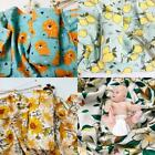 120x120cm Baby Muslin Receiving Blanket Infant Swaddle Wrap Newborn Sleepsack