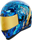 Icon Airform Ships Company Full Face Helmet BLUE