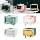 TV Tissue Box Mobile Phone Stand Holder Storage Organizer for Home Bedroom