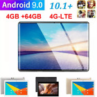 "Android 9.0 8"" Dual Sim 4g 2.5d Tablet Pc 4+64gb Dual Camera Phablet 2.0ghz"