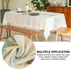 Rectangle Tablecloth Dining Room Party Dustproof Modern Simple Cotton Linen