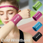 Wrist Brace Support Breathable Ice Cooling Sweat Bands Tennis Wristband Sport
