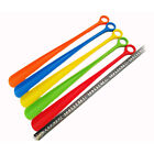 Colorful Plastic Shoehorn Shoe Horns Spoon Flexible Shoes Lifter Professional