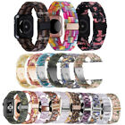 Resin Wrist Band Watch Strap 38/42/40/44mm For Apple iWatch Series SE 6/5/4/3/2