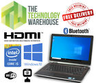 "Dell Latitude E6320 Laptop 13"" Hd Powerful I5 Cpu With Ssd + Hdmi & Windows 10"