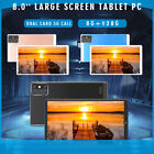 8.0'' Large Screen 5G Android 10.0 Tablet PC 8G 128G Dual Card Network Phablet