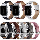 For Apple Watch iWatch Series SE 6 5 4 40/44mm Bands Leather Wristband Diamond
