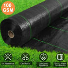 1-4m Wide Weed Control Fabric Ground Cover Membrane Garden Landscape+Fixing Pegs