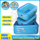1.4/1.5/1.7m Swimming Pool Family Garden Outdoor Summer Inflatable Paddling Poo