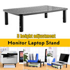 Desktop Monitor Stand Riser 3 Height Adjustable Monitor Stand Holders