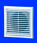"""5"""" 125mm LOUVRED GRILLE for EXTRACTOR FANS, DUCTING"""