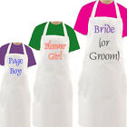 Personalised  Wedding Apron - Any Image/Text  3 sizes