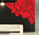 Luxury Flower Rose Art Vinyl Wall Stickers / Wall Decal