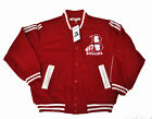 Bullies Red Varsity Baseball Jacket