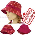 Kid Girl  Child Toddler Bucket Sunhat Sun Hat Cap Many Styles Colours