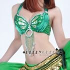 New! Belly Dance Bra Top US 32-34B/C 11Colours IN