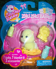 Zhu Zhu BABIES Hamster Pets Adorable Baby & 3 Accessories Play Set Toy NEW