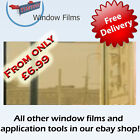 MIRROR GOLD 80% ONE WAY PRO WINDOW TINTING TINT FILM !