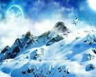 White Snow Winter Art Poster Print New