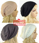 1 Knitted Knit Beret Beanie Hair Loss Headcover Head Cover SLOUCHY SHEER TWIST