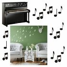 Musical music note stickers x20 WALL ART (car)  - M25