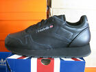 REEBOK BOYS CLASSIC LEATHER BLACK-GREY  71-50148