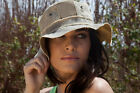 THE REAL DEAL FLOPPY ADVENTURE TRAVEL HAT BRAZIL TARP WITH PATCHES TRDFH, NEW!