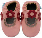 MINIFEET LEATHER BABY & TODDLER GIRLS SHOES 0-6,6-12,12-18,18-24 Mth Pink Sandal