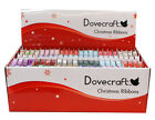 DOVECRAFT CHRISTMAS XMAS RIBBONS CHOOSE YOUR DESIGN