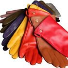 New GENUINE LEATHER gloves-No decoration plain style
