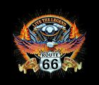 "Biker Shirt ""ROUTE 66, Live the Legend "" Gr 3XL 4XL 5XL"