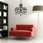 Sophisticated Chandelier Lamp Light Wall Stickers / Wall Decals / Wall Art