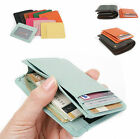 New Genuine Leather slim wallet mini purse unisex useful slim card wallets mini