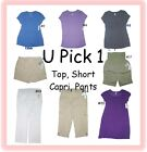 MATERNITY SHIRT PANTS CAPRI SHORTS WOMENS CLOTHES LADIES PREGNANT TOP BOTTOM TEE