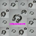 Horseshoes available in sizes from 8mm / 10mm / 16mm / 19mm Circular Barbells