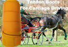 Horse Tendon Boots Yellow : Miniature To Horse Size Ideal For Carriage Driving