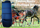 Horse Tendon Boots Navy : Miniature To Horse Size Ideal For Carriage Driving