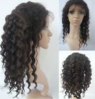 Body Wave Virgin Human Hair Lace Wigs Indian/Malaysia/Chinese/Brazil/Mongolian *