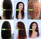 "long 20""-30"" full lace wig * lace front wig 100% human hair WATER WAVE"